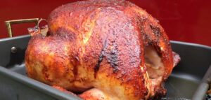 spicy bbq sauce butter injected turkey