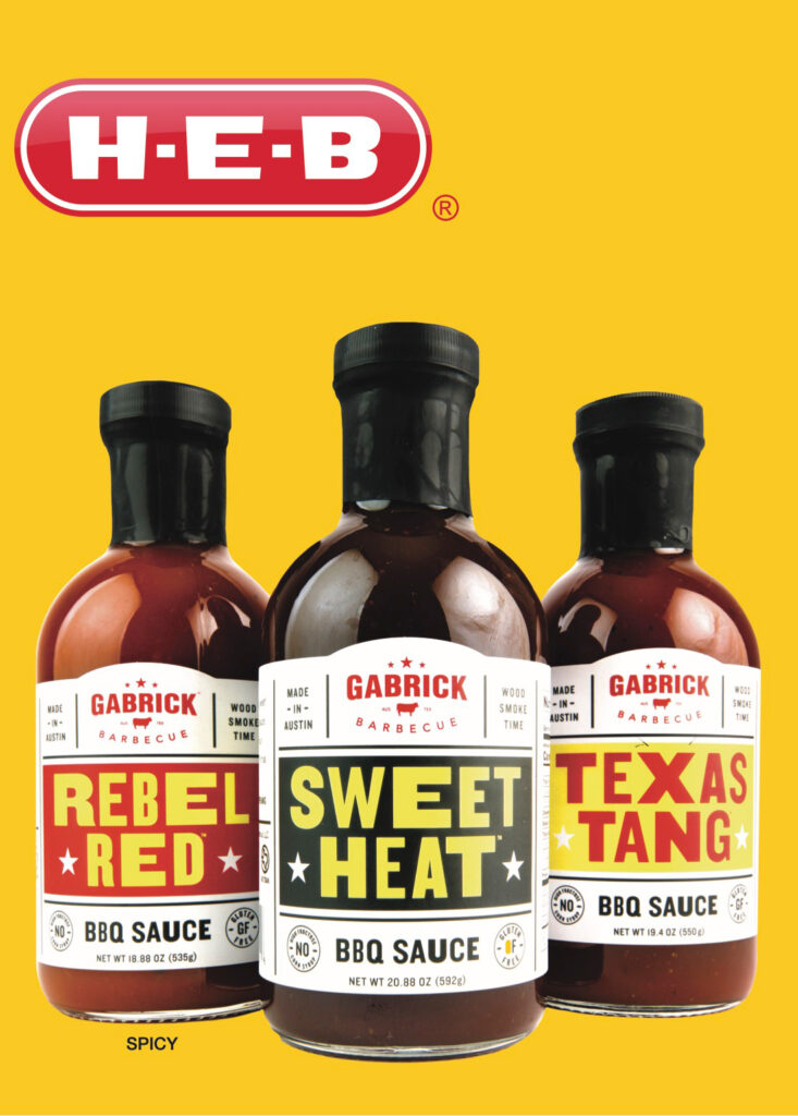 BEST STORE BOUGHT BBQ SAUCE. Three BBQ sauces available at H-E-B grocery store. Texas Tang, Rebel Red and Sweet Heat BBQ Sauce